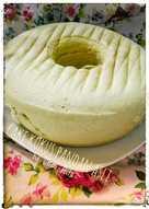 Cake kukus pandan asli