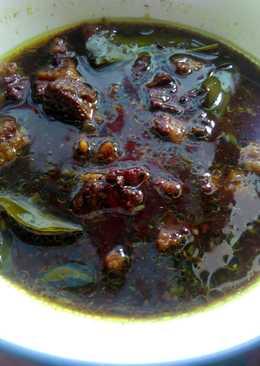 Rawon Daging Sapi Simple