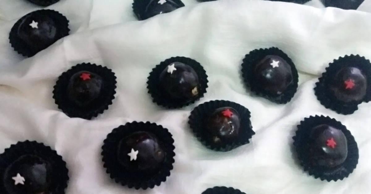 Resep BLACKNASTAR (Nastar Keju Berlapis Coklat)