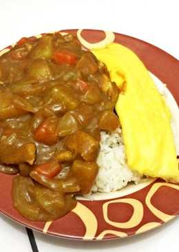 Chicken japanese curry rice