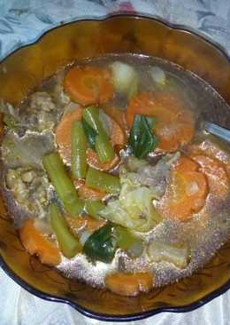 Sop daging sederhana