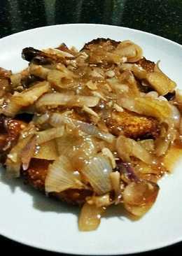Chicken Katsu Goreng Saus Tiram
