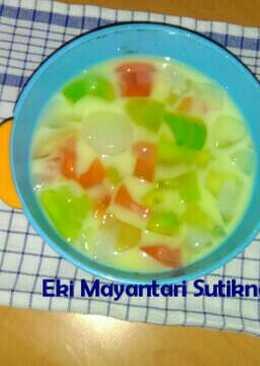 Es Jelly Sederhana (Hidangan Buka Puasa)
