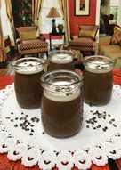 Dark chocolate pannacotta #keto #ketopad