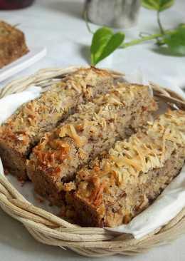 Cake Pisang Oat Madu Gluten Free😋 Rasa Kopi..👍