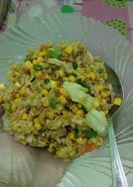 Nasi Goreng Jagung sederhana no MSG #Maree