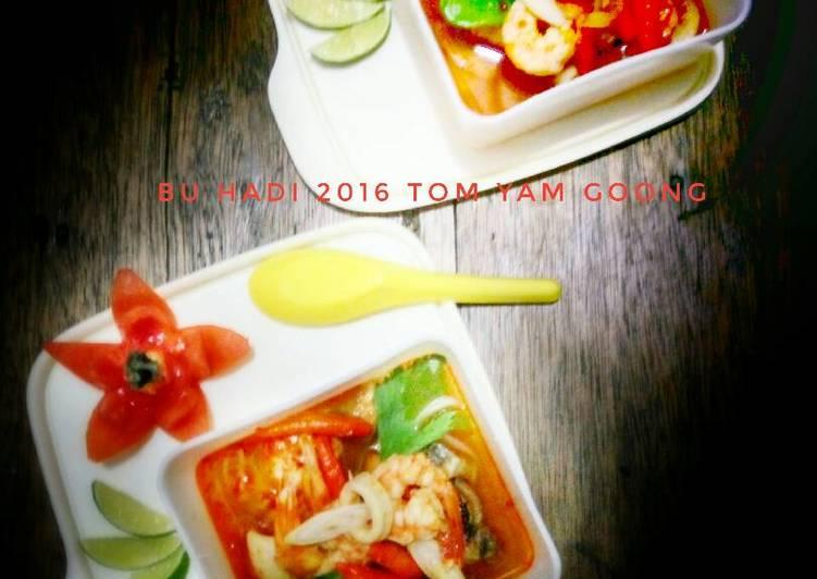 cara membuat Tom Yam Goong