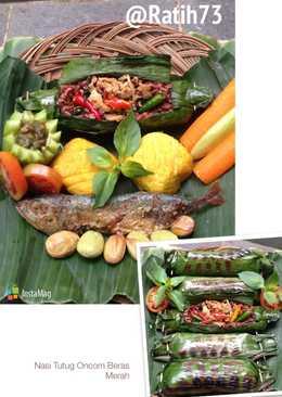 Nasi Bakar Komplit (Nasi Tutug Oncom Sunda)
