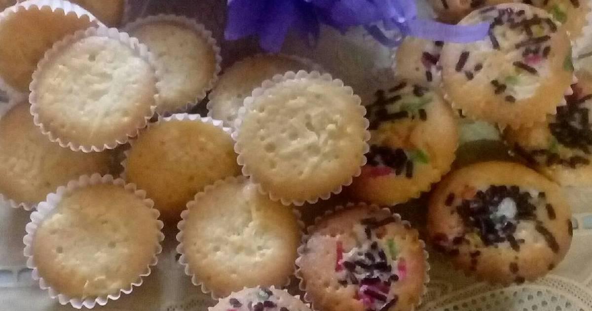 Resep Mini cupcake aka bolu kampong