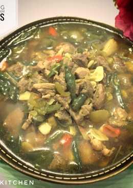 Daging Kuah Asam Pedas