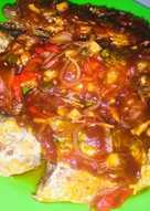 Ikan kembung sambal saus tomat