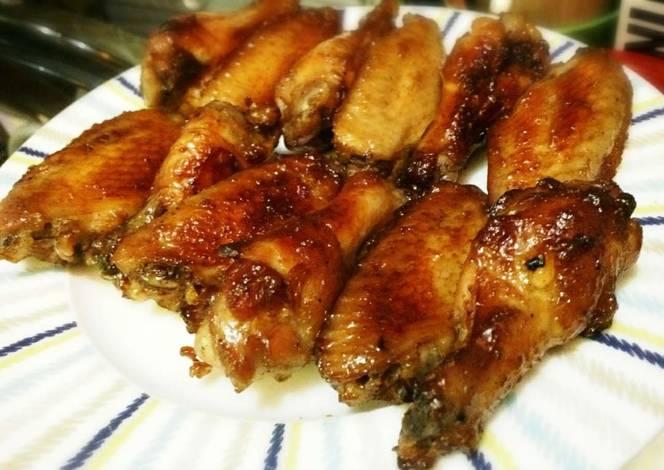 resep spicy chicken wings ala pizza hut oleh mega pusfhita