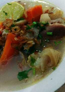 Sup Kikil Sapi Kuah Bening