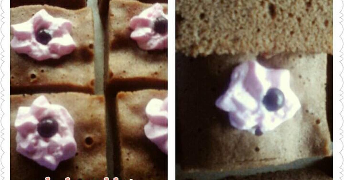 Resep Bolu coklat simpel dan irit
