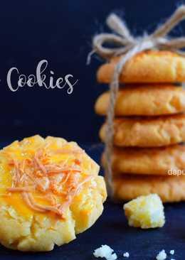 Cheesy Cookies (cuma 4 bahan!)