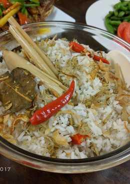 Nasi liwet *rice cooker*