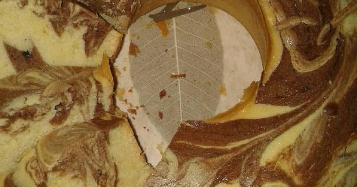 Resep marmer cake putel