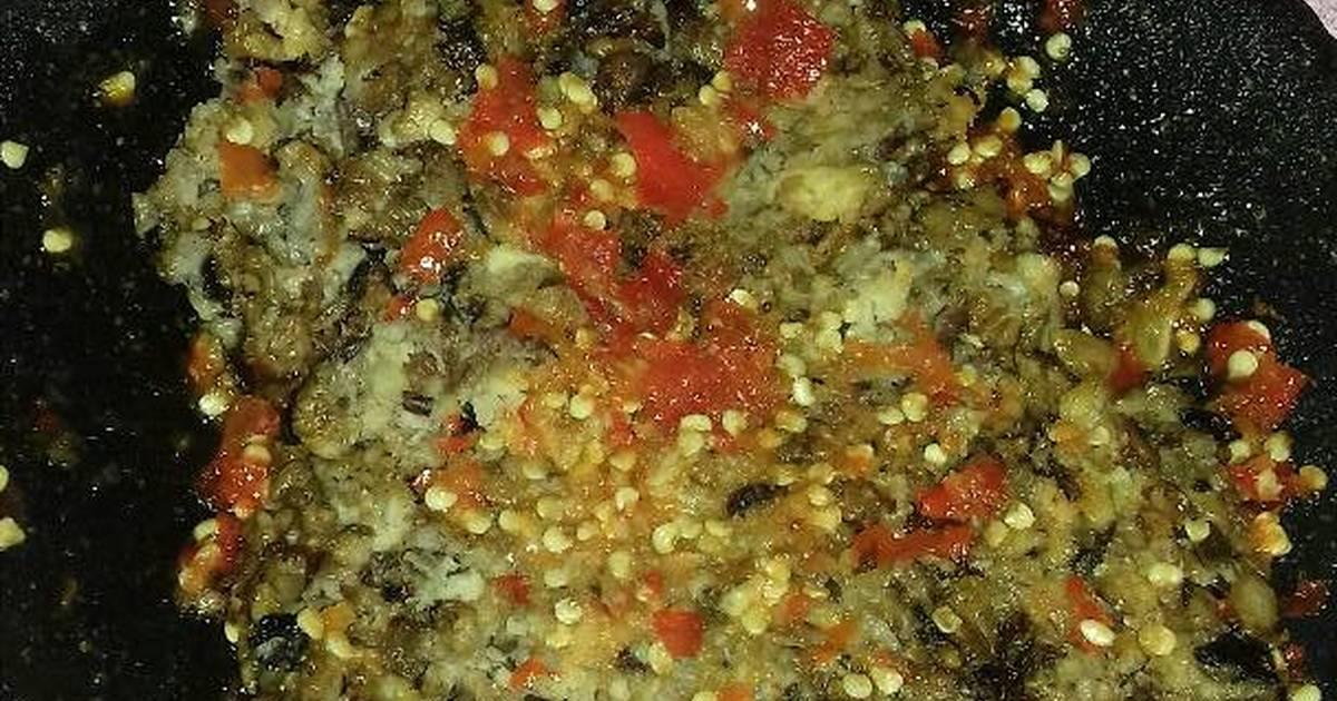 Bruschetta Ayam Jamur Lada Hitam