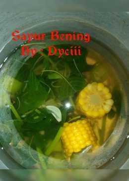 Sayur Bening (Sayur Kunci)