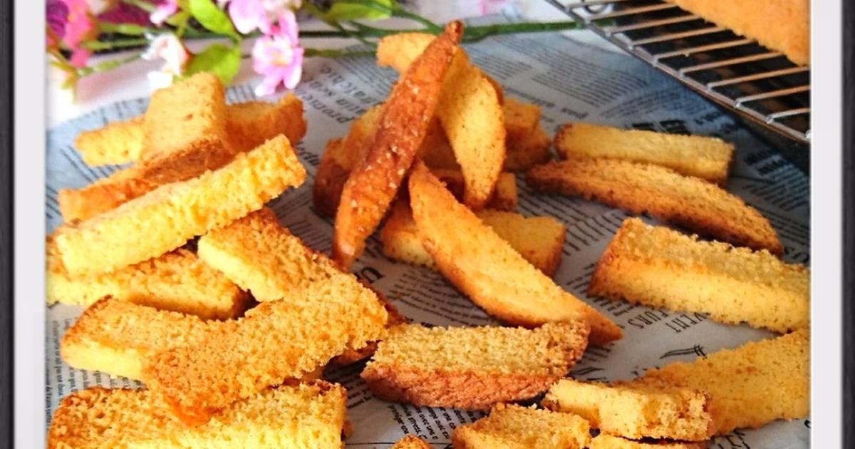 Resep Kue kering bolu(renov sponge cake)