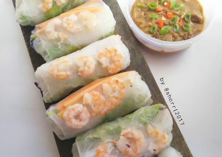Shrimp Spring Rolls #BikinRamadhanBerkesan #Day2