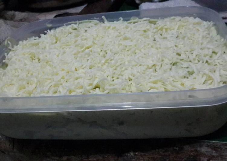 Resep Unbaked matcha cheese cake oleh Aloysia Yossy Resep Unbaked matcha cheese cake By Aloysia Yossy