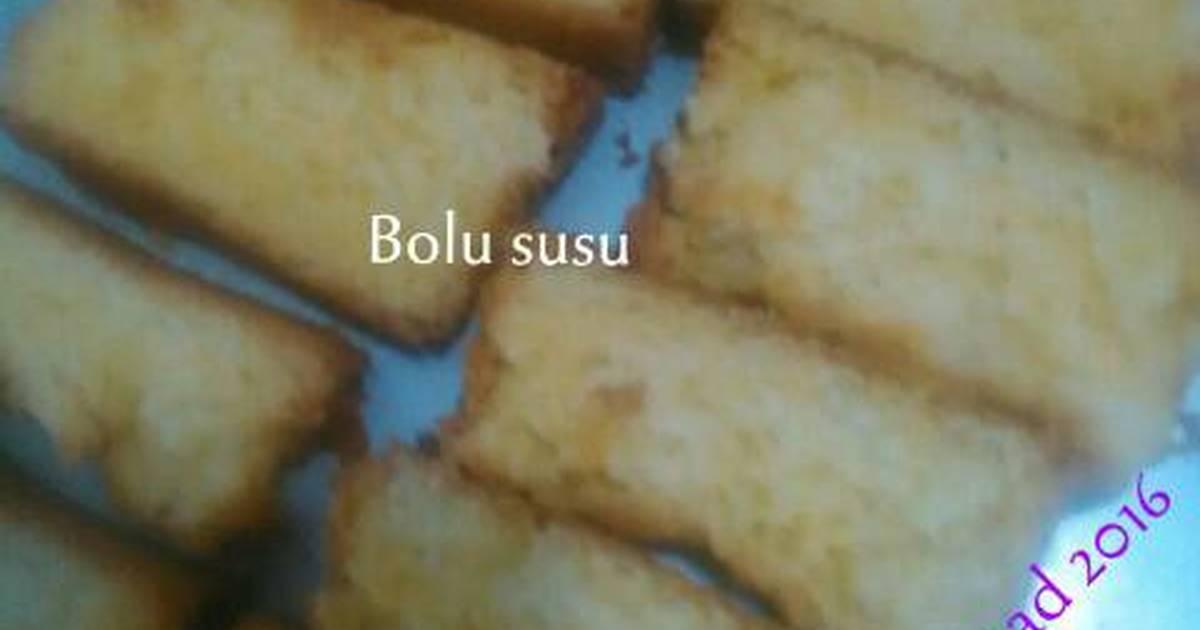 Resep Bolu susu campuran tepung beras