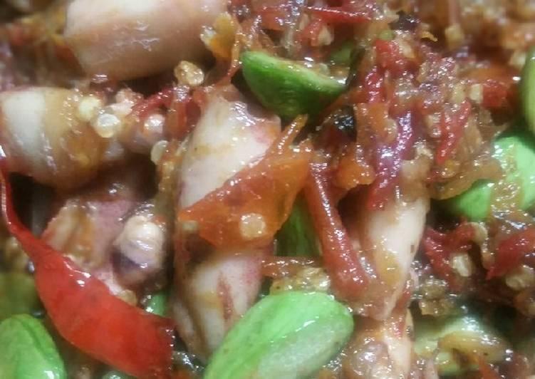 Resep Sambal Cumi Asin Pete Oleh Dapur Mama Nung Cookpad