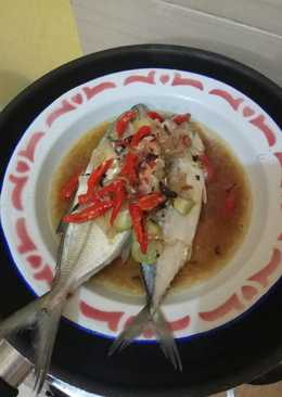 Kembung tim asam (ala Home Cooking Xanderkitchen)