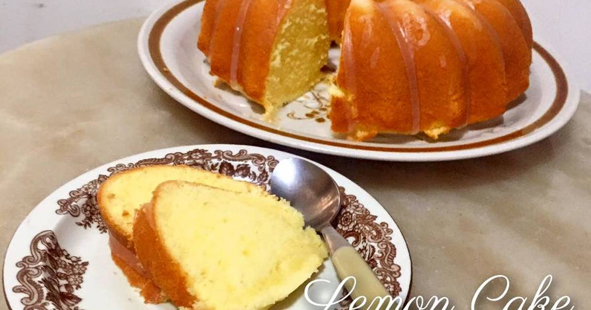Lemon Cake Resep