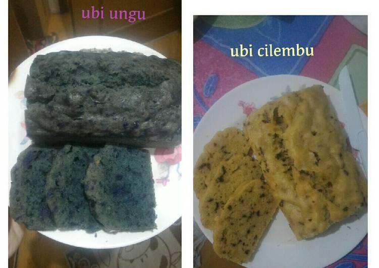 Resep Cake Kukus Ubi Ungu: Resep Bolu Kukus Ubi Ungu & Cilembu Oleh MeLi Virgo