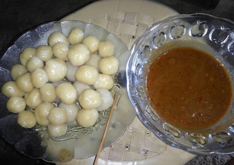 Resep Cilok Bumbu Kacang Pedas Oleh Nadya Ika Safitri Msi
