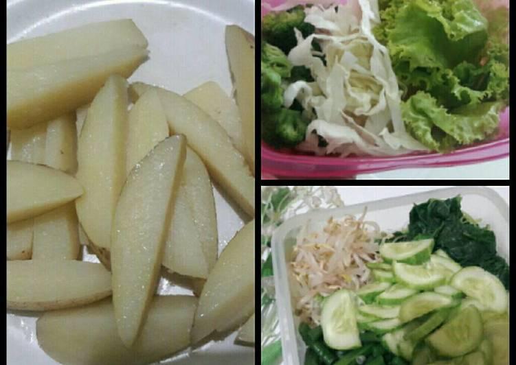 Resep Diet GM Day 2 - Vegetables Karya Rini Septiana Mulia Dewi