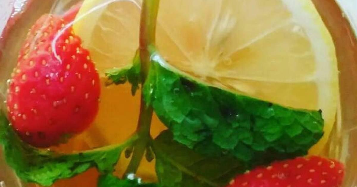 Resep Teh rasa buah