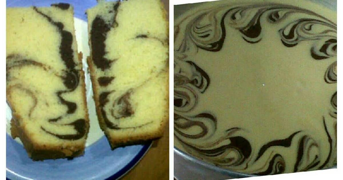 Resep Cake Marmer/Marble Cake