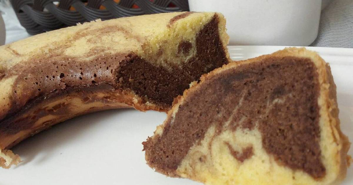 Resep Bolu marmer baking pan