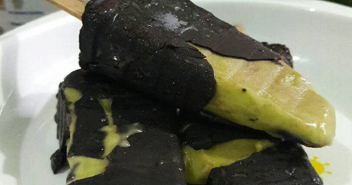 Resep Chocolate Avocado Popsicle ala magnum