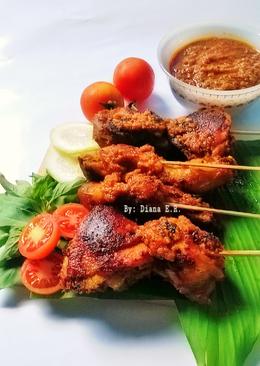 Ayam Bakar Teflon ala Nasi Tumpeng #prRamadhan_palingkaporit