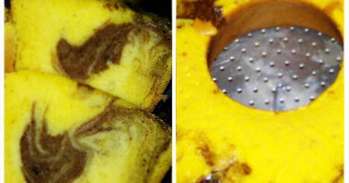 Resep cake marmer/ bolu klasik
