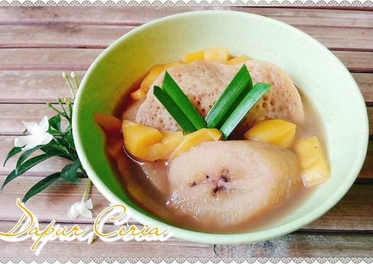 Resep Kolak serabi komplit (dg nangka dan pisang) super delicious Dari key_wirawan