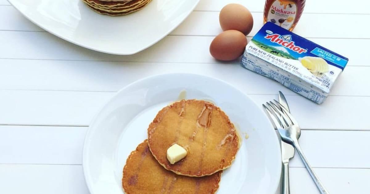6 resep america pancake enak dan sederhana   cookpad