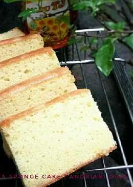 Castella Traditional Japanese Honey Sponge Cake aka Kasutera