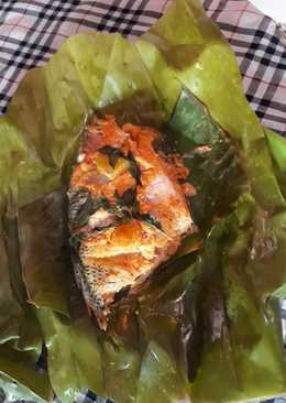 Pepes ikan kakap n dori spicy