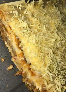 Healthy lasagna (dgn kulit pangsit)