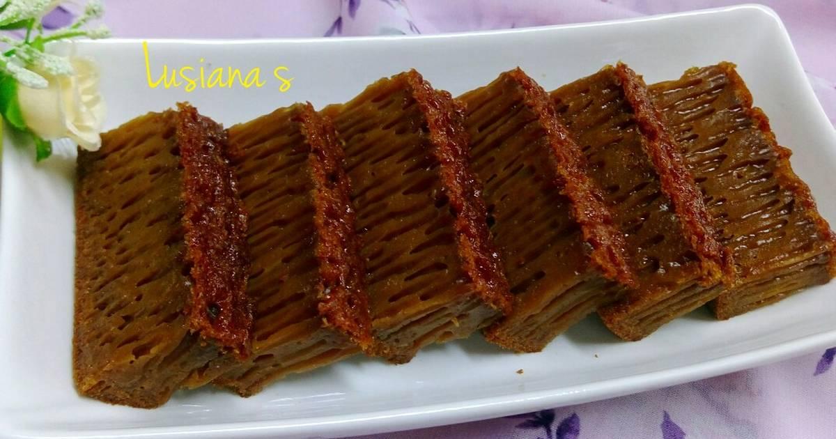 Resep Bolu Jadul Coklat Anti Gagal: Resep Bolu Karamel Sarang Semut (anti Gagal) Oleh Lusiana