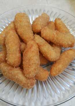 Pancake kentang dengan keju