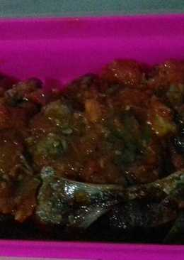 Ikan Dentis / ikan basah sambel Tomat