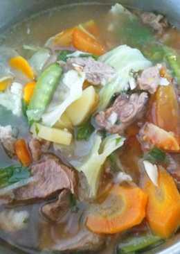 Sup Daging Seger