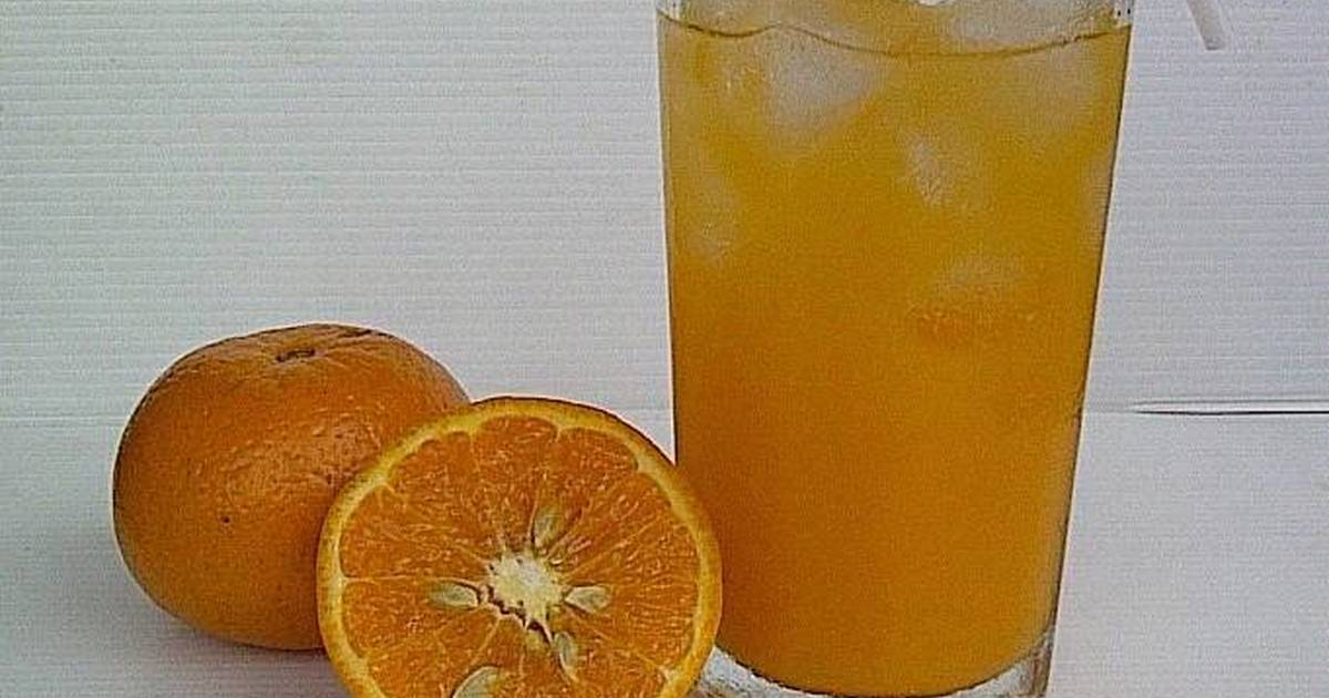 Resep Fresh Orange Jus - Is the best Mood Booster 👊