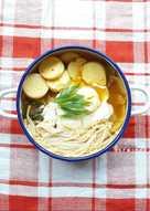 Sundubu Jjigae (sup tahu pedas Korea)